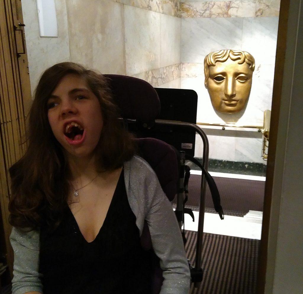 Katerina at an event at BAFTA